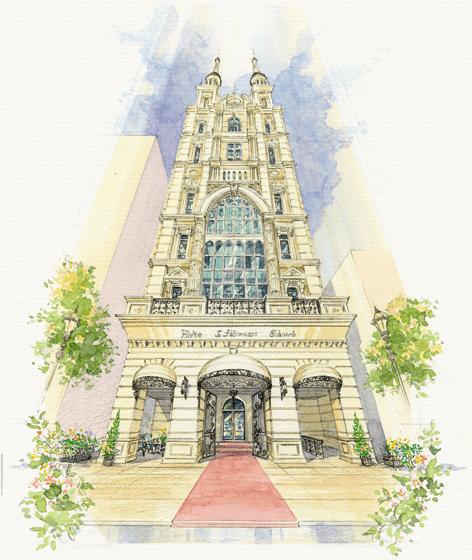 神戸の中心三ノ宮にある、都会の中の英国式チャペル神戸セントモルガン教会 KOBE St. Morgan Church.
