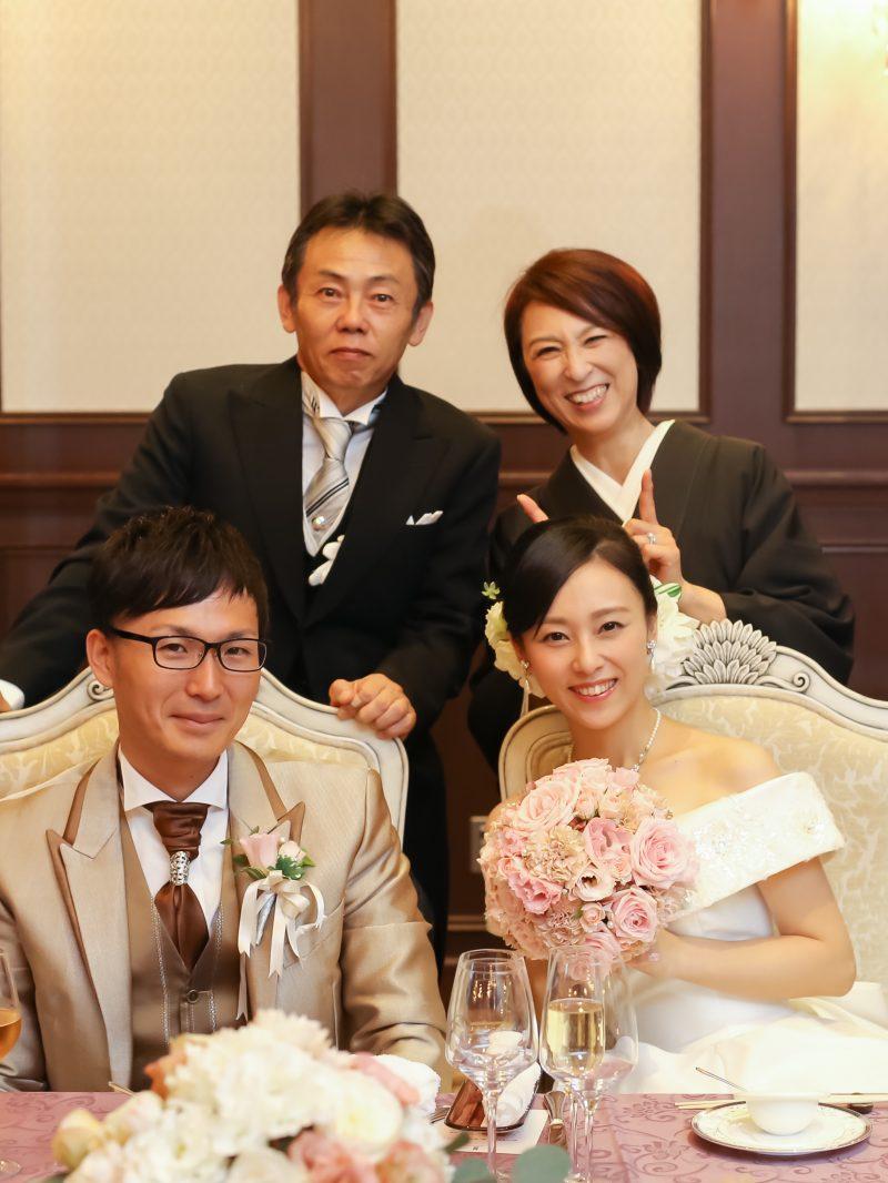 家族婚 記念写真