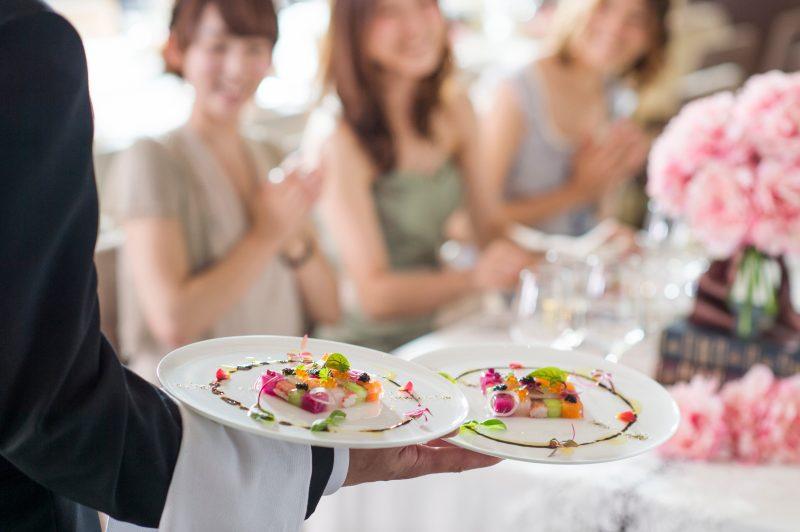 結婚式 料理