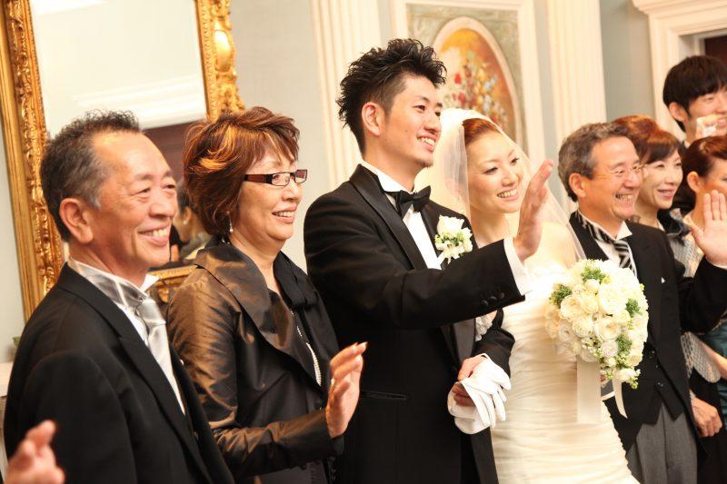 家族婚 披露宴 写真