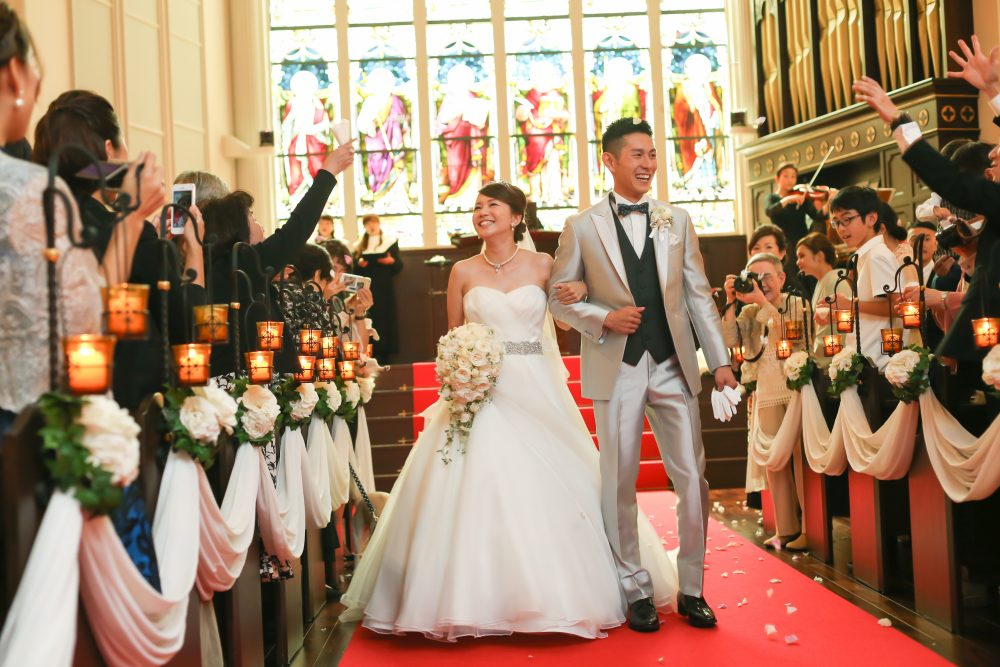 結婚式 感謝