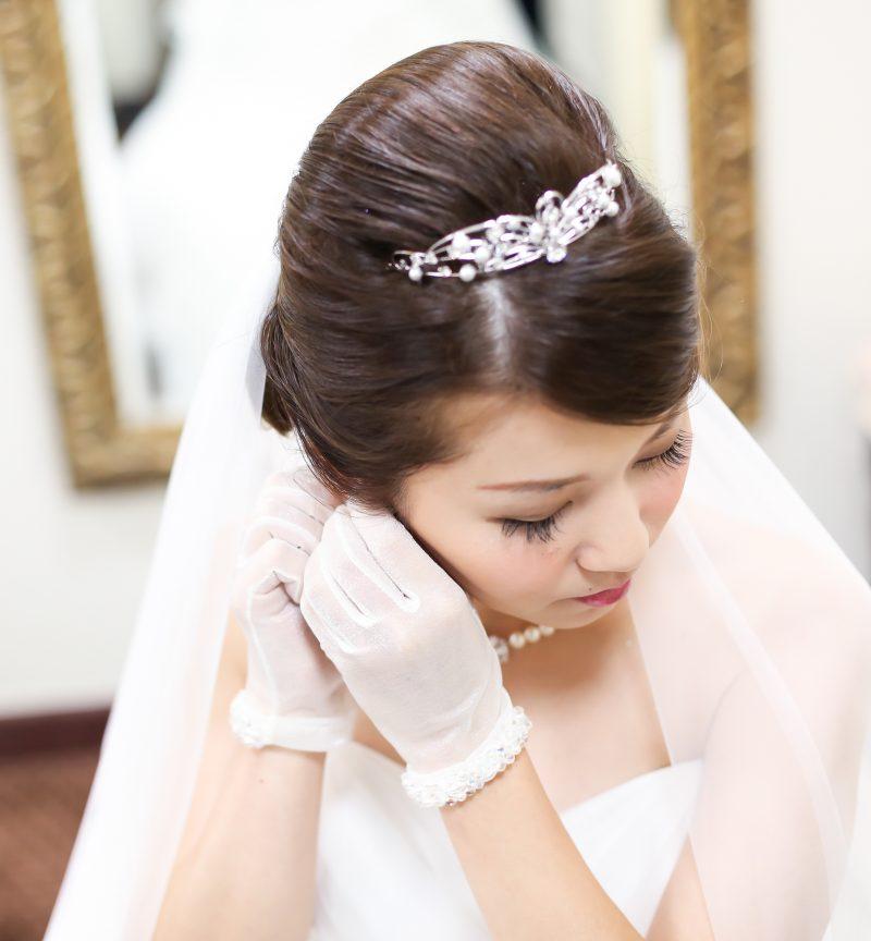 家族婚 ドレス