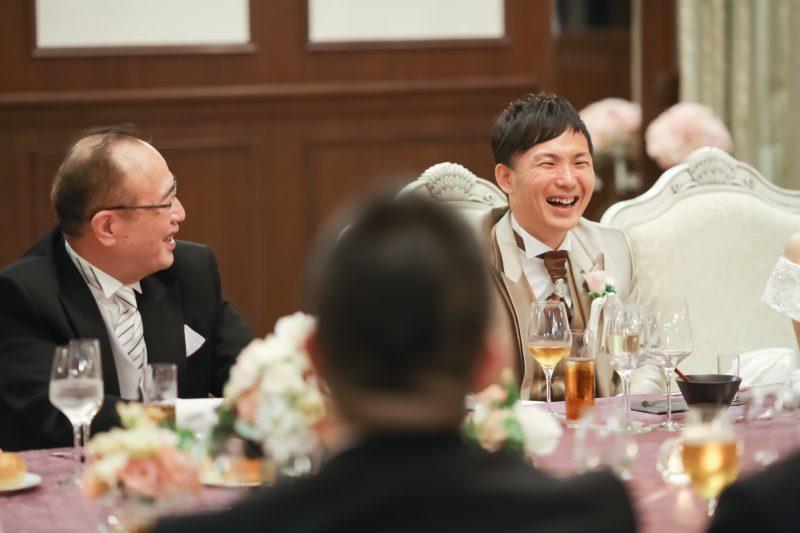 結婚式 歓談