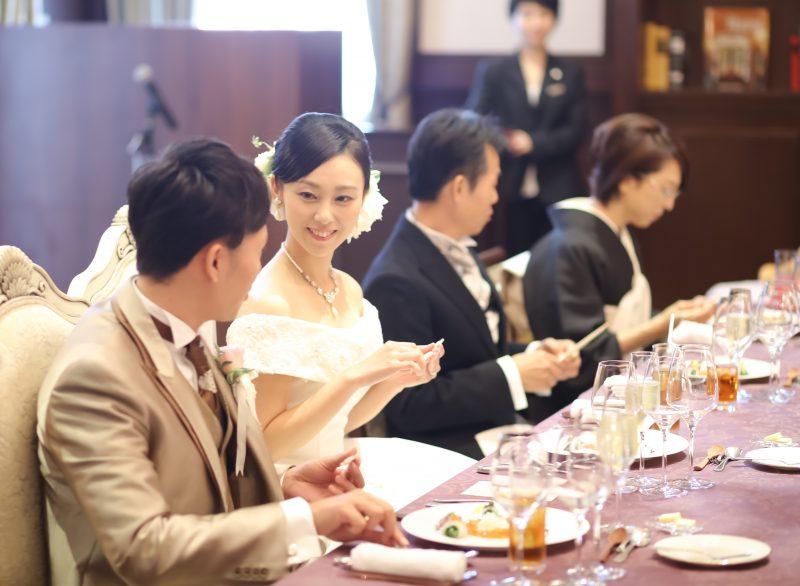 家族婚 食事会