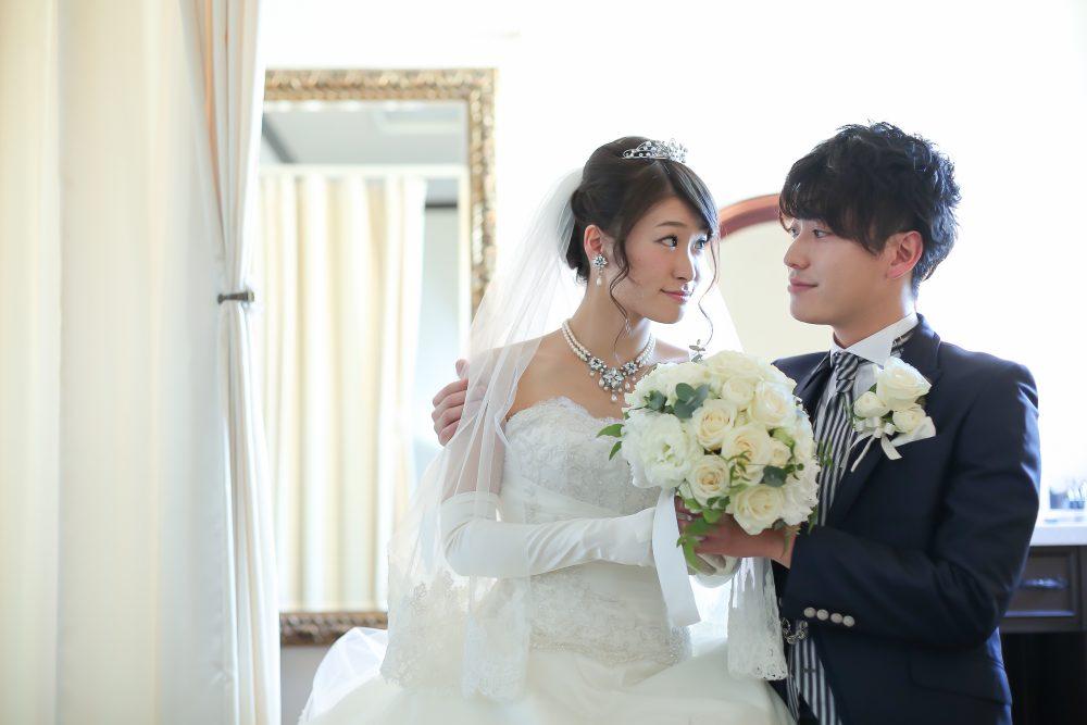 結婚式 ウエディングドレス ブーケプルズ