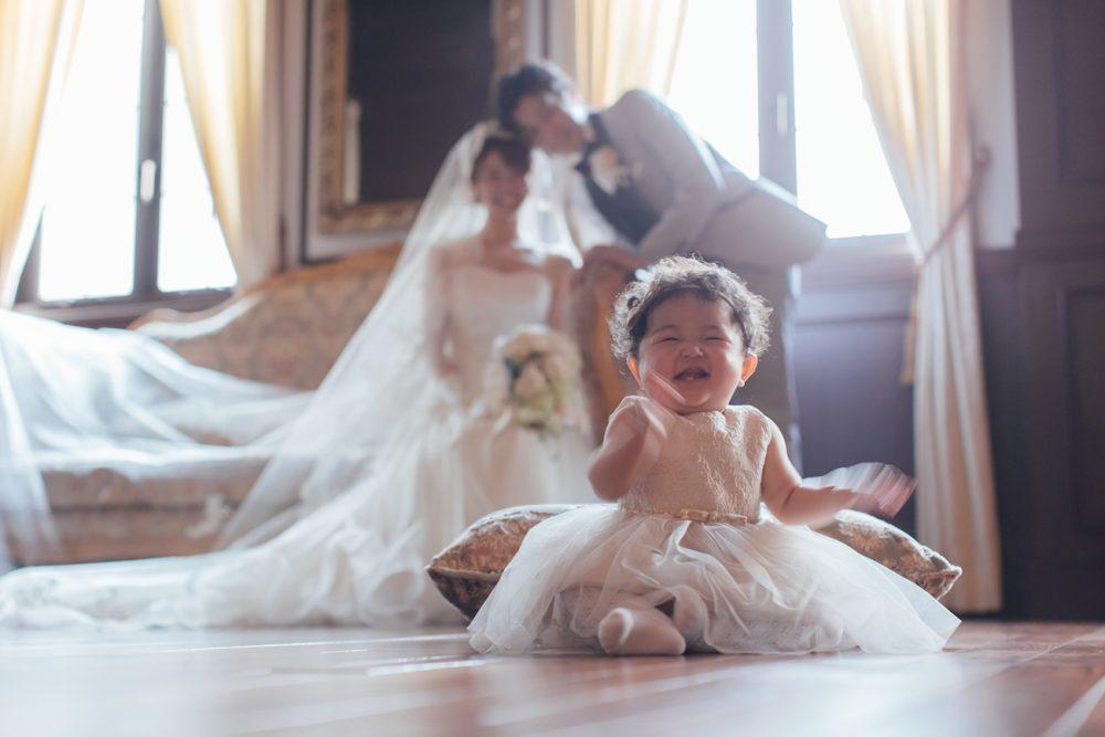結婚式で着る子供の服装