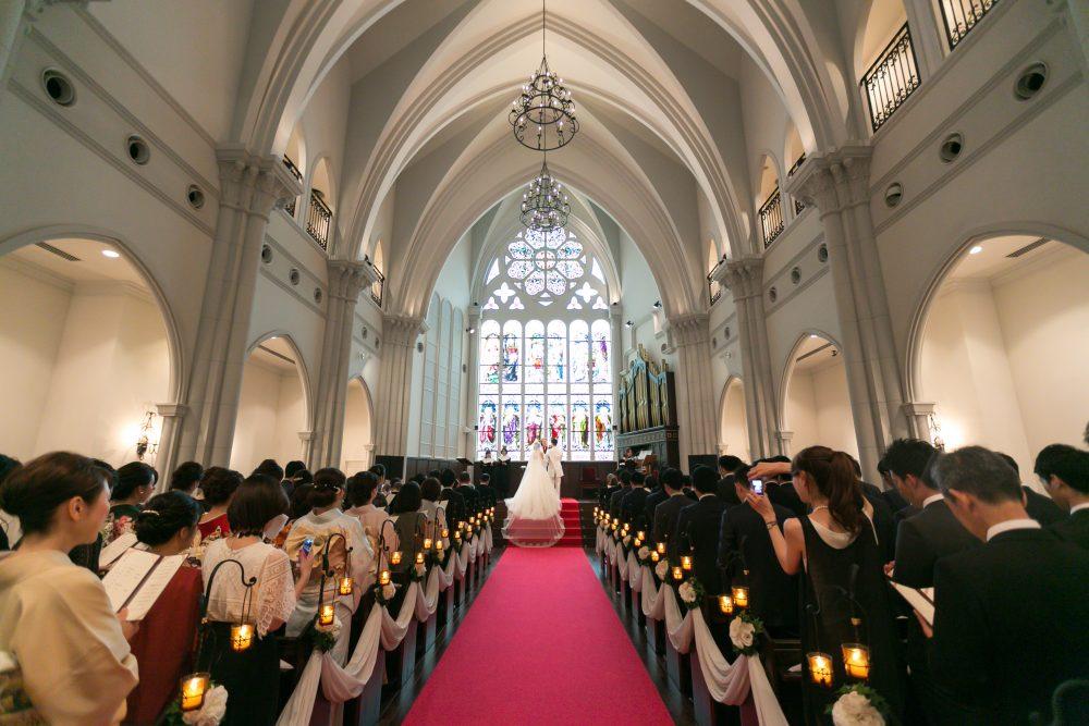 結婚式場見学 模擬挙式