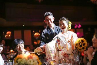 2019年に和装の結婚式でおすすめのBGMは?ケーキ入刀などシーン別にご紹介
