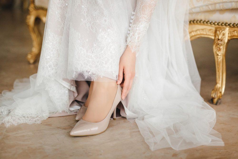 マタニティ 結婚式 靴