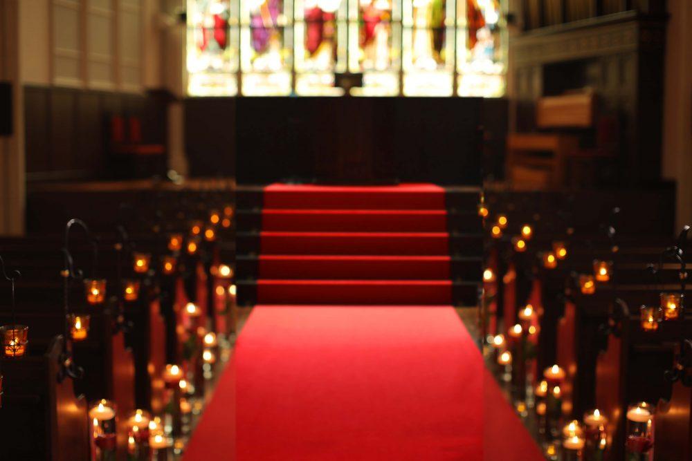 レトロな結婚式場